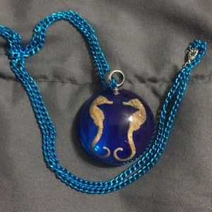 Handmade Seahorse Pendant Necklace